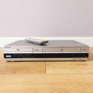 Sony SLV D980P DVD VHS Video Cassette Recorder Combi Player HiFi Stereo + Remote