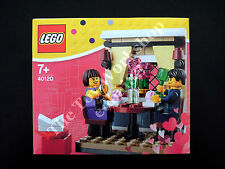 LEGO Valentine's Day Dinner 40120, New & Sealed, Incl. 2 Minifigures