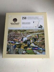 Spitfire over Henley - 250 piece Wentworth wooden jigsaw puzzle