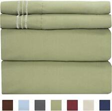 King Size Sheet Set - 4 Piece Set - Hotel Luxury Bed Sheets - Extra Soft - Deep