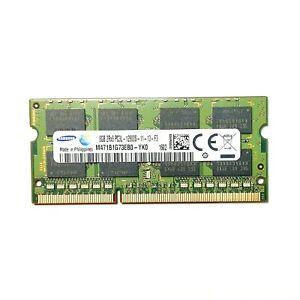 Samsung 8GB DDR3L DDR3 1600Mhz 2Rx8 PC3L-12800S-11-13-F3 Low Voltage Laptop RAM