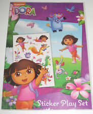 Kit d'Autocollants Dora l'Exploratrice Sticker Play Set 21x30 cm NEUF