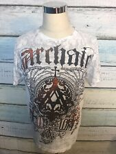 ARCHAIC Affliction Mens Large T Shirt  Distressed