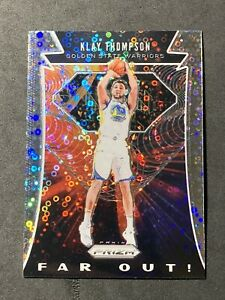 2019-20 Prizm KLAY THOMPSON Far Out! Fastbreak DISCO Golden State Warriors