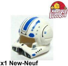 Lego - 1x Minifig headgear casque helmet star wars Clone Pilot 87557pb02 NEUF