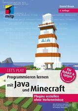 Programmieren lernen mit Java und Minecraft, 4. A. 2021 +++ Direkt vom Verlag