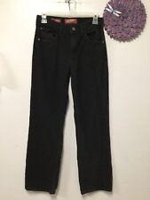 Girls jeans size 16 slim black relaxed five pocket Arizona Jeans 111