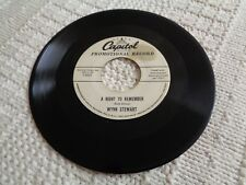 WYNN STEWART  A NIGHT TO REMEMBER/I WISH I COULD SAY THE SAME CAPITOL 3803 PROMO