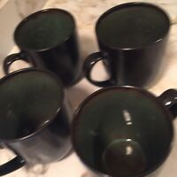 Home Trends Rave Green Large Coffee Mugs Set Of Four