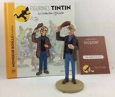 Collection officielle figurine Tintin Moulinsart 35 Monsieur Boullu le marbrier