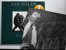 Van Halen Women And Children First Ger Orig LP + Large Poster N.Mint!