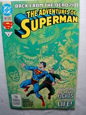 C 2425 DC 1993 ADVENTURES OF SUPERMAN Back from the dead? #500  M / NM Condition