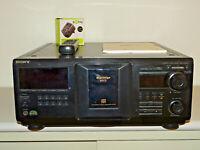Sony CDP-CX455 Mega Storage 400fach CD-Wechsler Schwarz FB&BDA, 2 Jahre Garantie