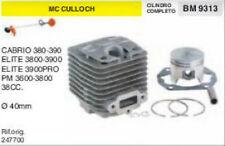 CILINDRO E PISTONE DECESPUGLIATORE McCULLOCH 380 390 3800 3900 3600 Ø 40 mm
