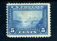 USAstamps Unused FVF US 1913 Panama-Pacific Scott 399 OG MLH