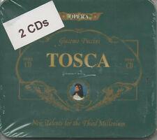 Giacomo Puccini Tosca Doppel CD NEU New Talents for the Third Millenium