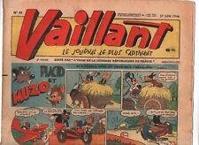 VAILLANT n° 59 du 27 juin 1946 - TBE