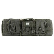 "BDT Bulldog Tactical Rifle Bag Double Case Backpack Straps Black 13"" x 37"" x 4"""