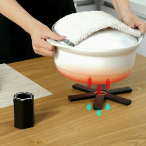 Foldable Heat Resistant Placemat Dining Table Mat Plastic Insulation Coaster Pad