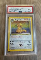 PSA 9 1st Edition Dragonite Holo Fossil 4/62 1999 WOTC Pokemon