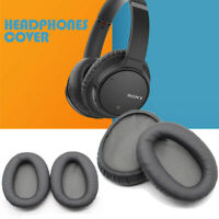 Portable Sponge Earphones Headphones Leather Cover Accessory For SONY WH-CH700N