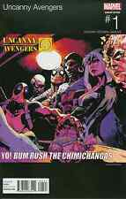UNCANNY AVENGERS 1 HIP HOP VARIANT NM PUBLIC ENEMY YO BUM RUSH THE SHOW 2015