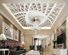 3D Sitting room bedroom TV background ceiling fashion mural wallpaper BQ410