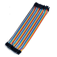 Quality 40 pcs Dupont Cable Male To Female 20cm Jumper Wire for Breadboard Hot
