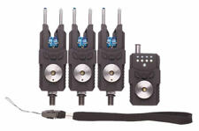 Pro Logic SMX Bleu Edition 3+1 sans fil alarme + récepteur Carpe Barbeau Brochet 3 Rod