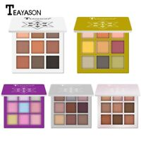 9 Colors Shimmer Glitter Eye Shadow Powder Makeup Palette Pigment Eyeshadow M4