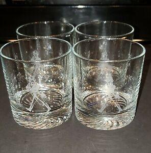 JOHNNIE WALKER  Vintage Drink Glasses  Set of 4