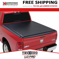 """TruXedo Lo Pro Tonneau Cover Roll Up fit 12-18 Dodge Ram 1500 6'4"""" Bed w/ RamBox"""
