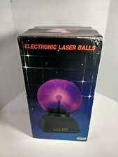 VINTAGE PLASMA LAMP ELECTRICITY GLASS BALL ELECTRONIC LASER BALLS. New Open Box!