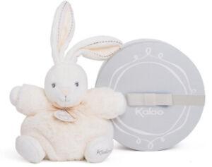 "Kaloo Perle CREAM Chubby Rabbit  8""/20cm soft plush toy NEW"