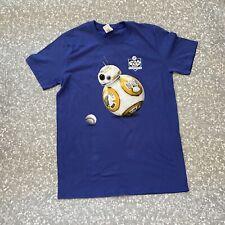 New Los Angeles Dodgers Star Wars Night BB- 8 T-Shirt Size M