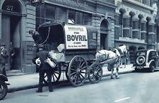 Nostalgia Postcard LMS Horse Drawn Transport, Deliveries, Reproduction Card NS49