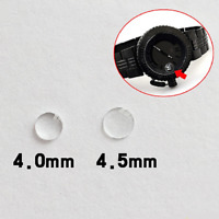 4.0/4.5mm Round Mineral Bubble Magnifier Lens for Date Window Watch Crystal