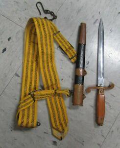 Cold War Era USSR Soviet Russian Army Officer Dagger with belt (SFP007101)