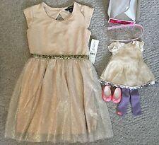 Girls Dress Sz 6-6x American Girl Isabelle Inspired