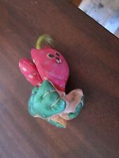 Vintage Fisher Price Dottie cat smuggler Smooshees Smooshies charm toy clip on