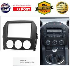 Fascia facia Mazda MX5 MX-5 MX 5 2005-2009 radio Double 2 Din dash panel kit