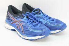 ASICS Gel-Cumulus 19 Women's Blue Purple/Black/Flash Coral Road-Running Shoes 9M
