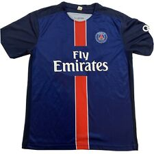 Paris Saint Germain Blue Jersey Number 10 FIFA Premiere League Official - Mens M