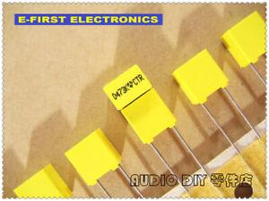 20pcs/200pcs  THOMSON(TPC) 0.047uF/250V 10% MKT Film Capacitor 47nF 473