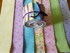 """New Fabri-Quilt 2.5"""" Jellyroll Fabric Strips Quilting Sewing Crafting"""