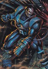 1995 Fleer Marvel Masterpieces Trading Card #2 Apocalypse