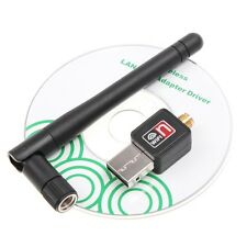 150Mbps USB WiFi Wireless Adapter LAN Network 802.11n/g/b with Antenna