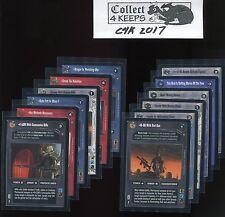 Star Wars CCG EPP Enhanced Cloud City Complete Set (12 Cards)