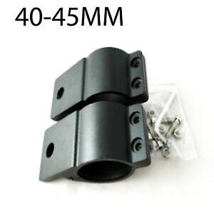 2PCS  40-45mm Bullbar Mounting Bracket Clamp LED Work Light Bar Antenna