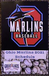 2021 Ohio Marlins Baseball Schedule ⚾️ Cool Minor League Baseball Sked ⚾️